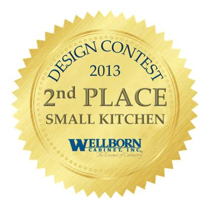 2013 Design Contest Winner – Small Kitchen – 2nd Place