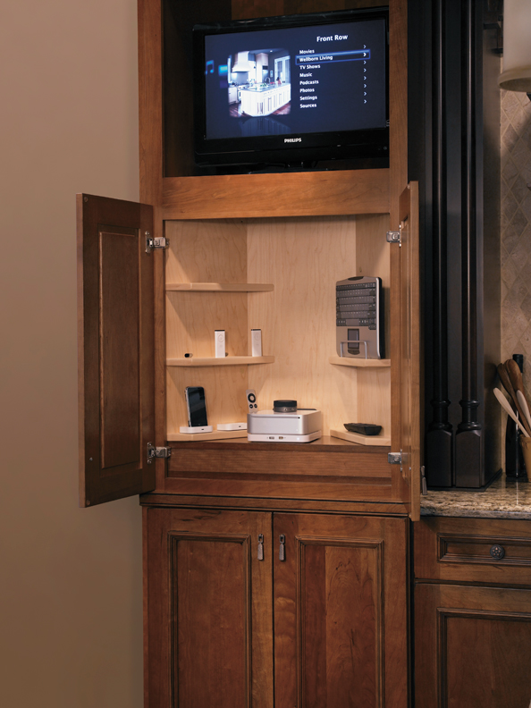 Entertainment Centers - Media Life Furniture Cabinet by Wellborn Cabinet, Inc.