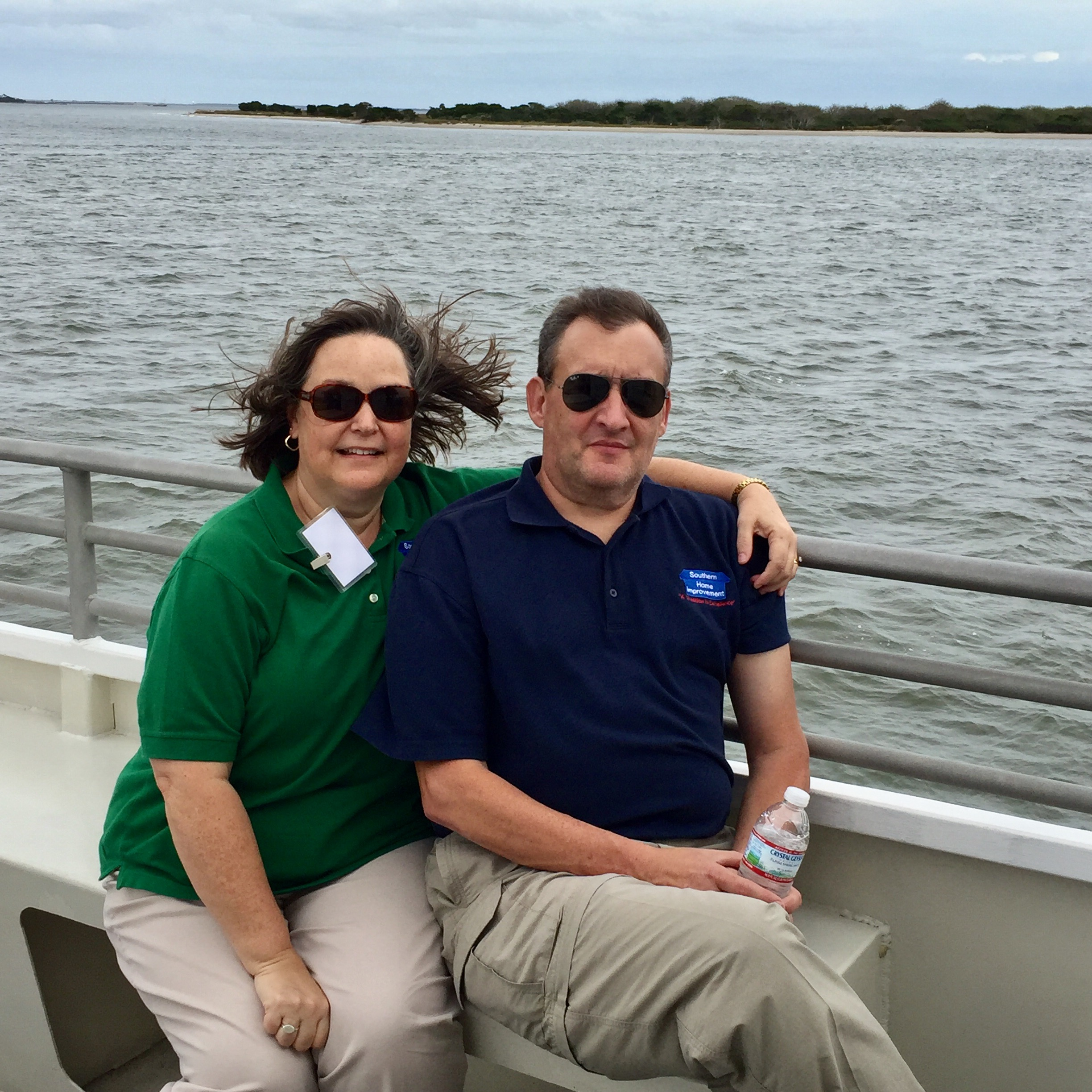 Wellborn Cabinet customers enjoying the beautiful Bald Head Island