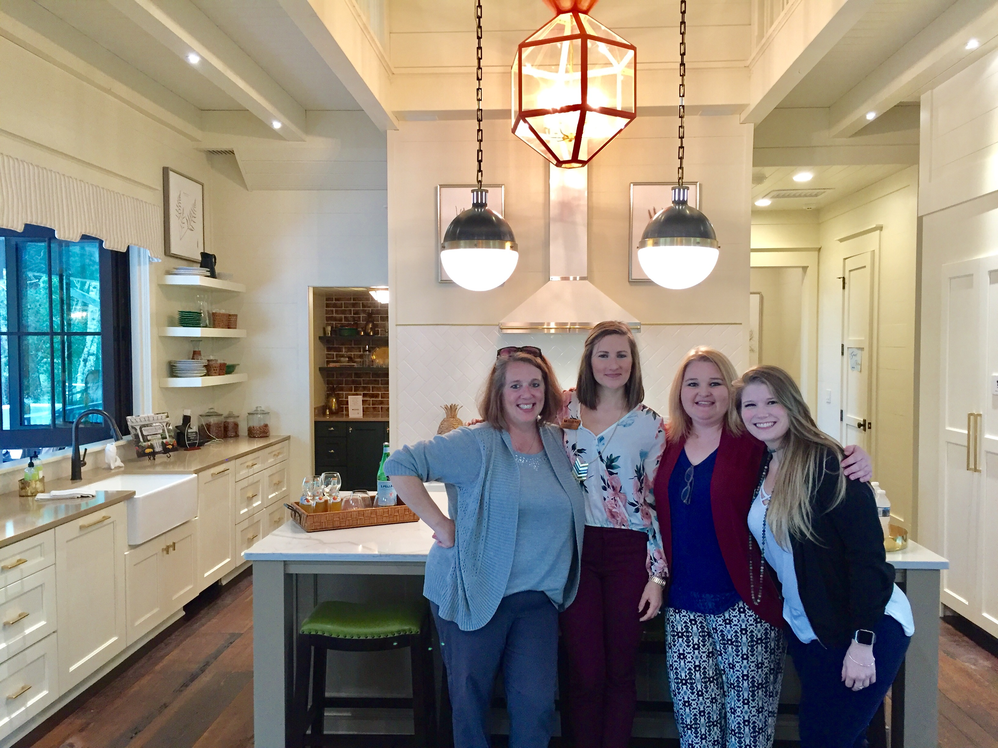 Wellborn Cabinet Staff in attendance at the 2017 Southern Living Idea House