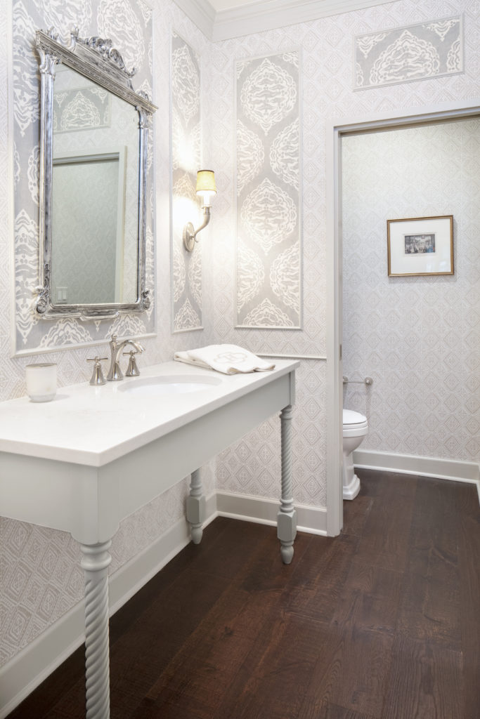 grey bathroom vanity