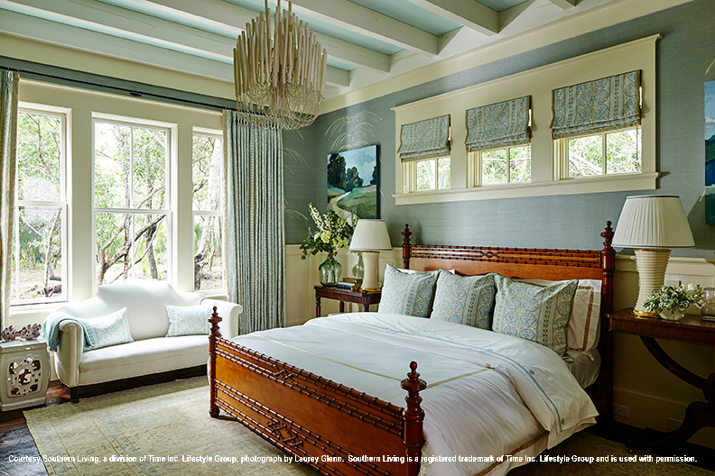 2017 southern living idea house master bedroom traditional style