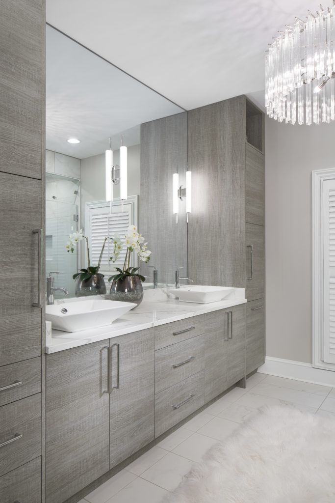 aspire luxe series frameless cabinetry full access