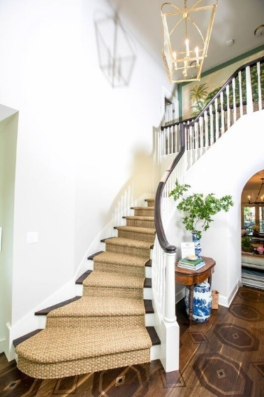 foyer in the 2018 Southern Living Idea House
