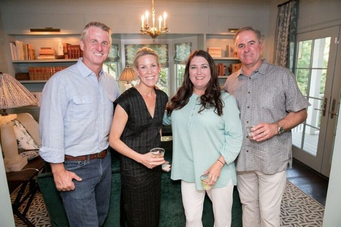 Designer Meredith Ellis and Builder David Wilkes of the 2018 Southern Living Idea House