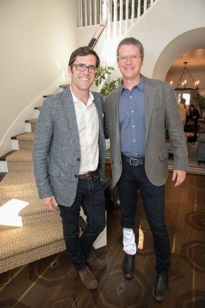 Southern Living Editor in Chief Sid Evans and Architect Christopher Sanders