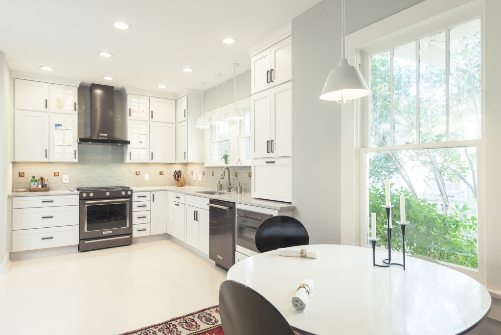 white kitchen cabinetry hanover in maple small kitchen design contest