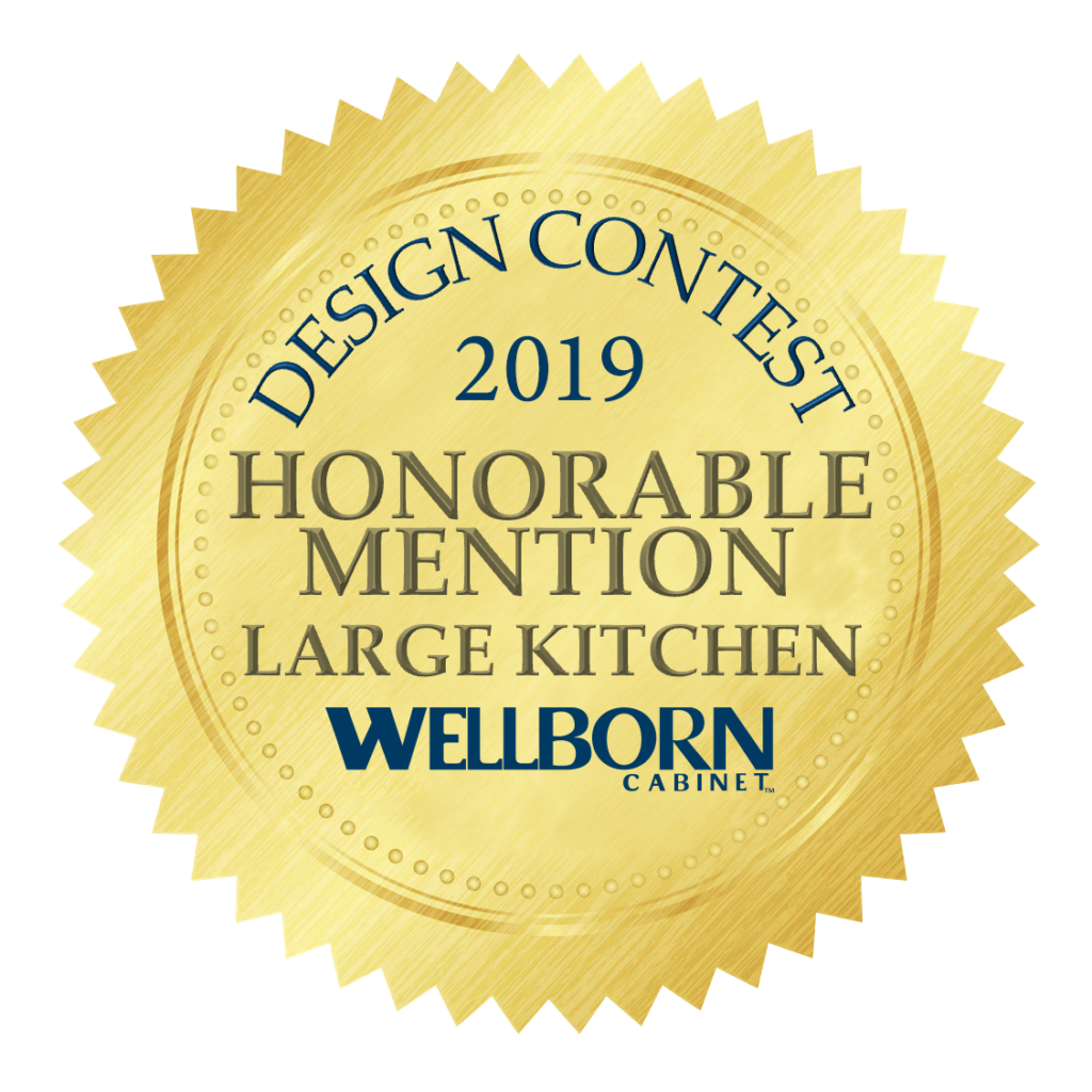 honorable mention wellborn cabinet kitchen design contest