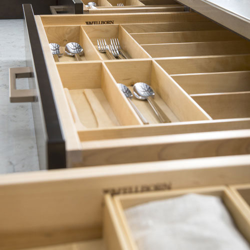 Cutlery Divider: Drawer Storage Solutions - Hutch and Refreshment Area Accessories
