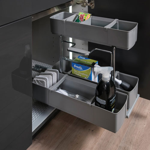 Deluxe Sink Caddy Pullout - Laundry Room Accessories