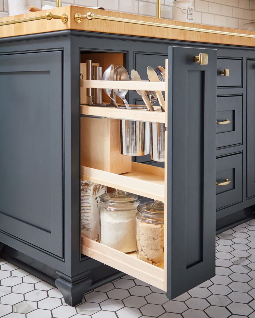Pull Out Storage Space Saving Ideas Wellborn Cabinet