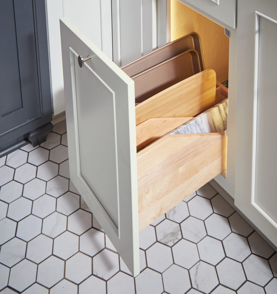 cabinet pull-outs for cutting boards