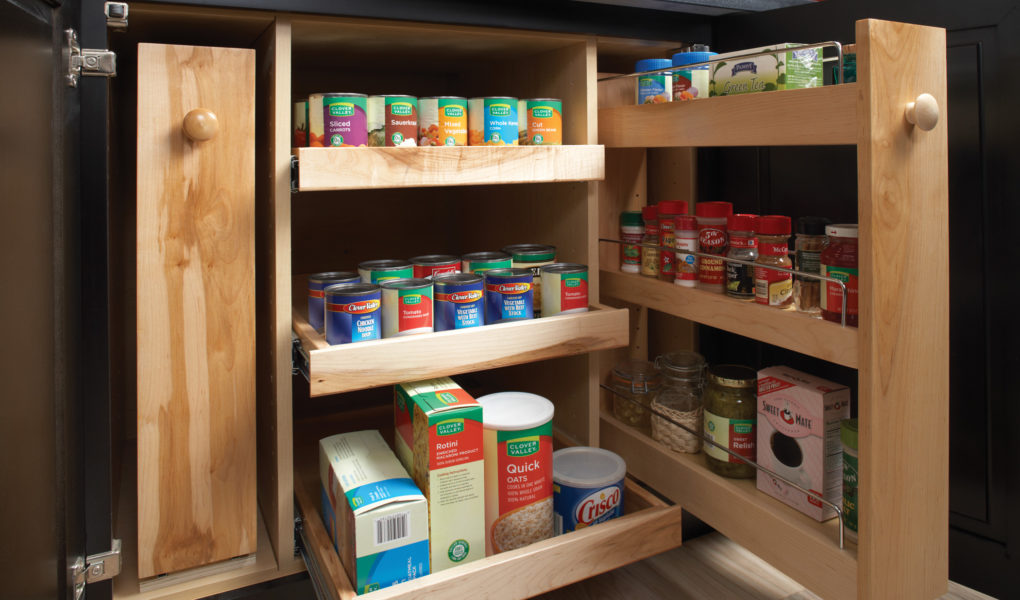 pull-out shelves for cabinets