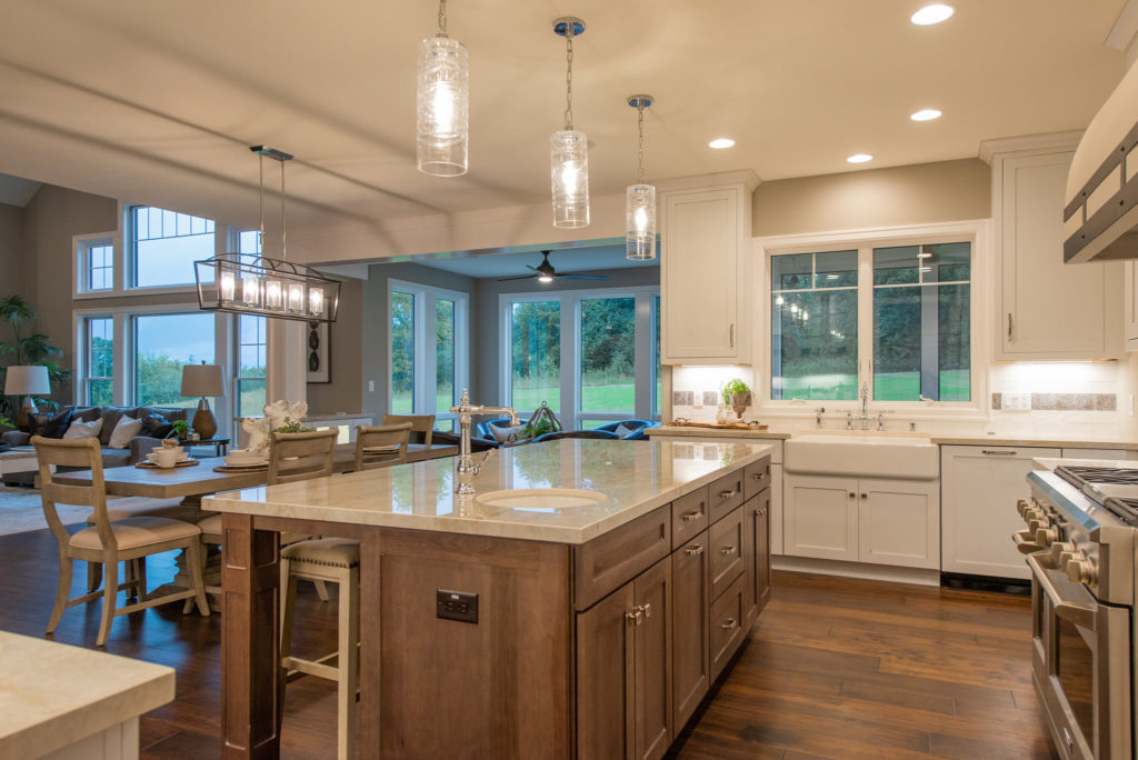 stain kitchen featuring wellborn cabinet cabinetry