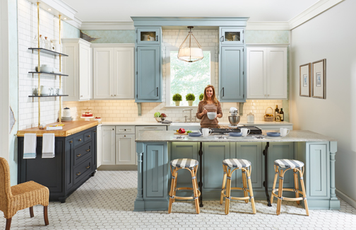Top Design Trends Two Tone Kitchen Cabinets Wellborn Cabinet Blog