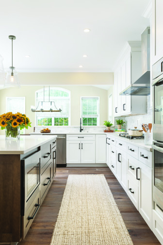 Trends We Love White Cabinets Black Hardware Wellborn Cabinet